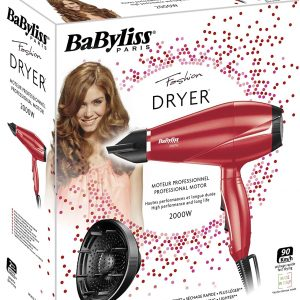 BaByliss 6604RPSDE Hair Dryer With Diffuser 2000W