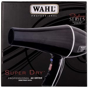 Wahl SW-9500-S Super Dry Black Hair Dryer