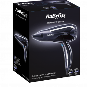 BaByliss D210SDE Compact Hair Dryer 2000W