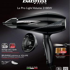 BaByliss 6610SDE Le Pro Light Volume 2100W