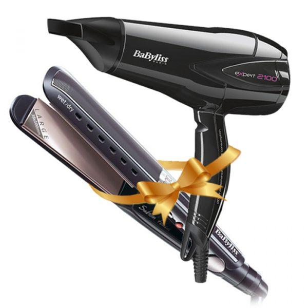 BaByliss Bundle, Hair Straightener Plus Hair Dryer