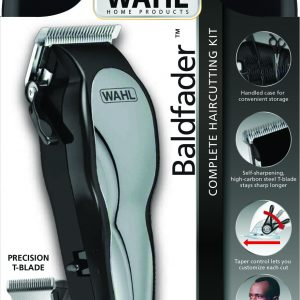 Wahl 79111-527 Baldfader Clipper 14-piece Haircutting Kit