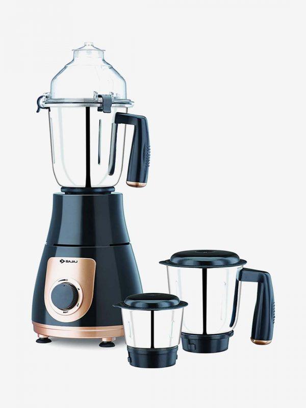 Bajaj GX 3701 750 Watts Mixer Grinder with 3 Jars (Black)