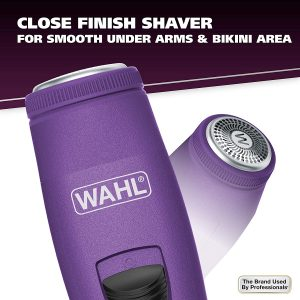 Wahl 9865-127 Pure Confidence Rechargeable Electric Trimmer for Women