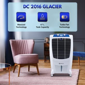 Bajaj DC2016 67-litres Desert Air Cooler (White)